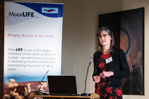 Sarah Fowler at MoorLIFE Conference
