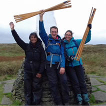 Peak District scientists celebrating award win