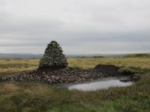 Image of the Cairn at Tooleyshaw Moss