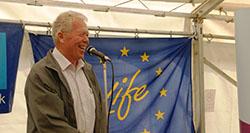 Poul Chrisensen launching MoorLIFE