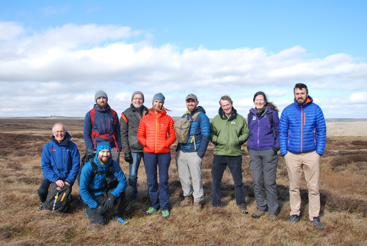 Coldhouse Collective visiting the moors