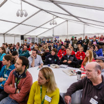 Image of an Audience at BogFest