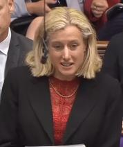 Image of MP Ruth George in Parliament