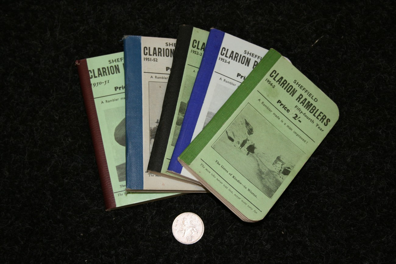 Clarion ramblers booklets