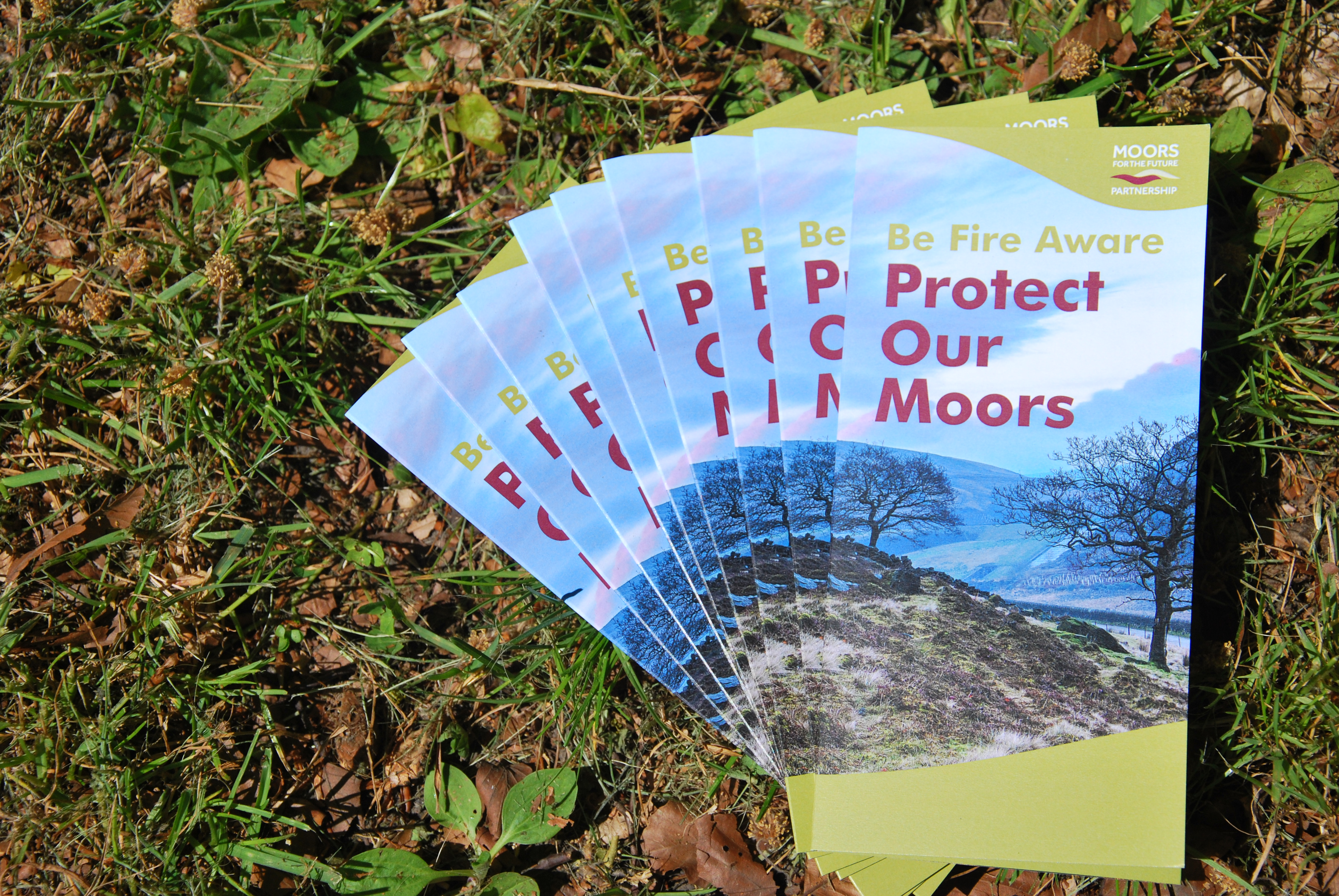 Be Fire Aware Leaflet - Protect Our Moors
