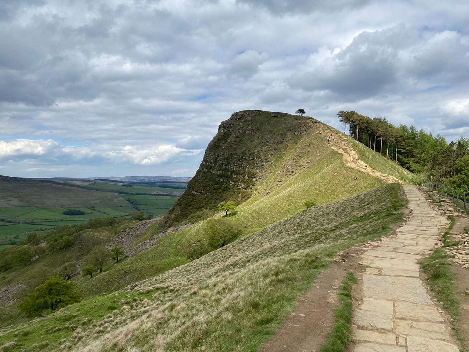 Great Ridge path repair