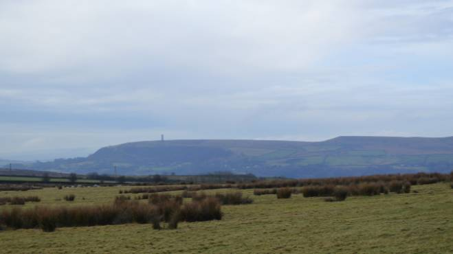 View to Holcombe Moor - part of the Moor Carbon Project ©National Trust