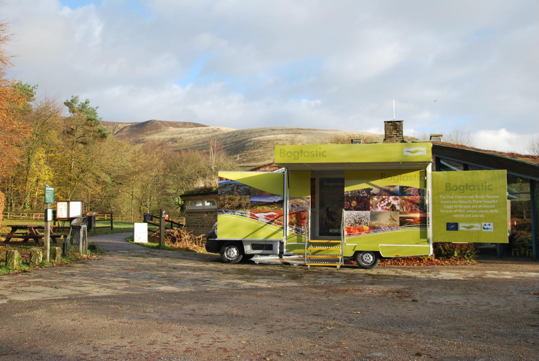 The Bogtastic Van at Edale