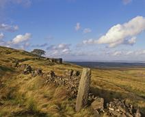 Picture of Top Withens that inspired the book Wuthering Heights - taken by Simon Warner